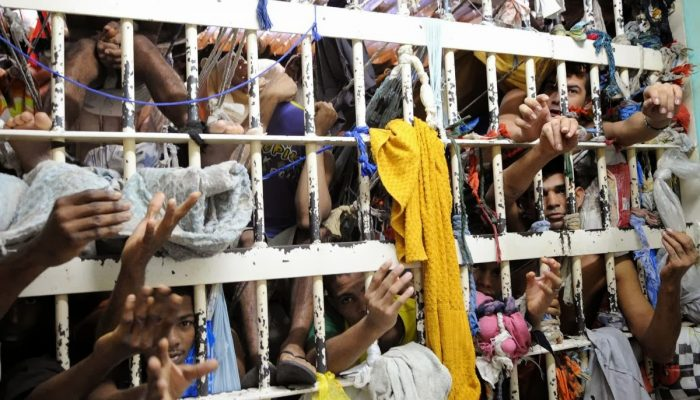 Há presos sob custódia sem que tenham sido julgados. Foto: brasil247.com