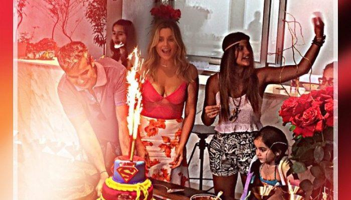 Família reunida para celebrar a vida de Flávia. Foto: Reprodução/Instagram.