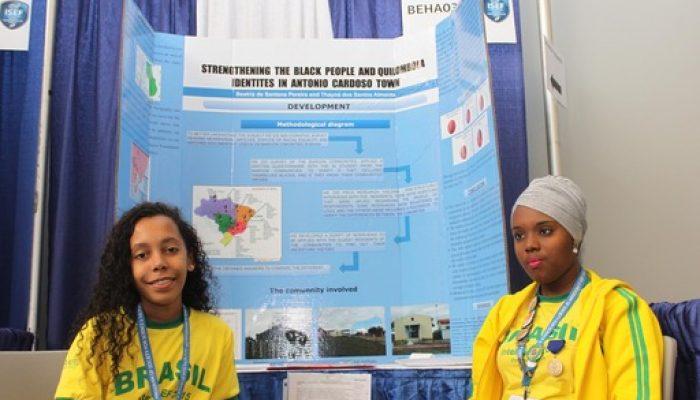 Baianas participam de uma das uma das maiores Feiras de Ciências do mundo para estudantes pré-universitários
