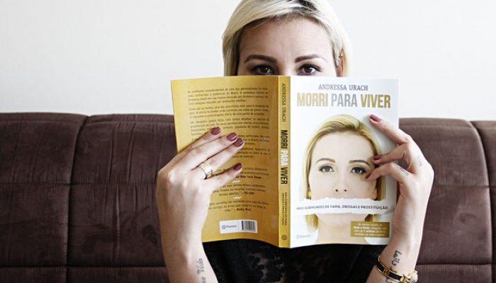 Polêmicas sobre Andressa estão todas no livro. Foto: Celso Tavares/ EGO.