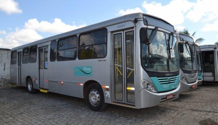 Ônibus estão prontos para circular. Foto: feiradesantana.ba.gov.br.