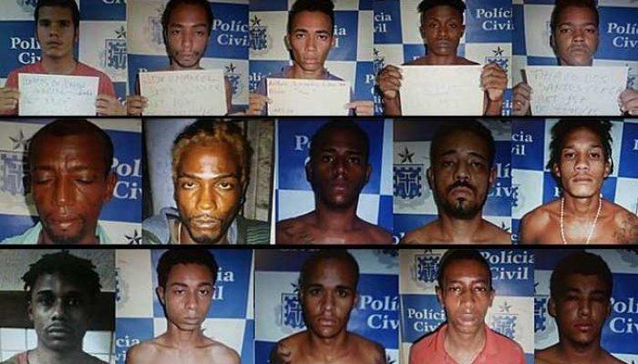 Presos serraram grades da cela. Foto: jornal A Tarde.