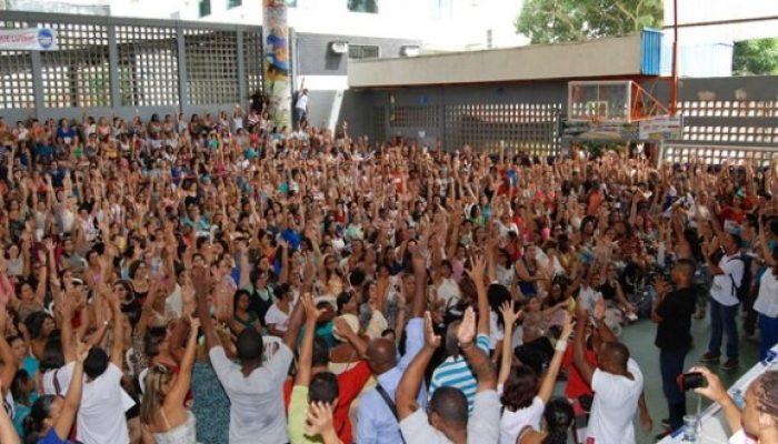 Decisão tomada em assembleia nesta terça-feira (16). Foto: aplbmunicipal.org.br.