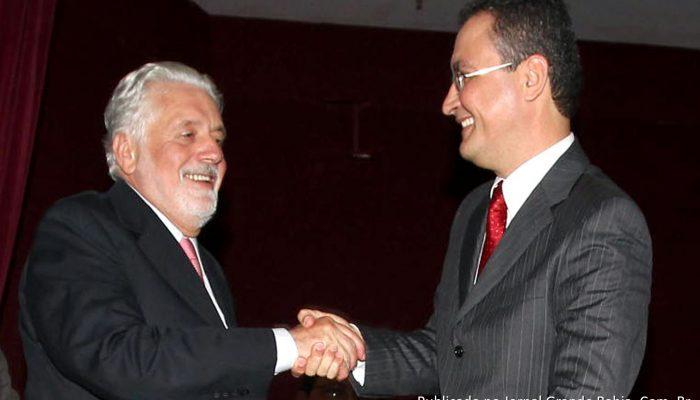 Governador Jaques Wagner participa da Cerimônia de posse de Rui Costa como novo secretário da Casa Civil. Foto: Manu Dias/SECOM