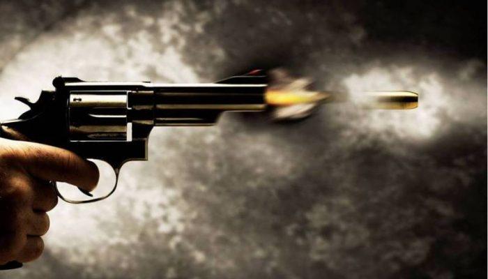 Não se sabe de onde partiu o tiro contra o suspeito. Foto: radiopoty.com.br.