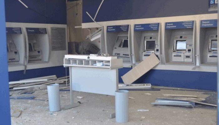 Criminosos não conseguiram levar o dinheiro. Foto: Reprodução/Bocão News.