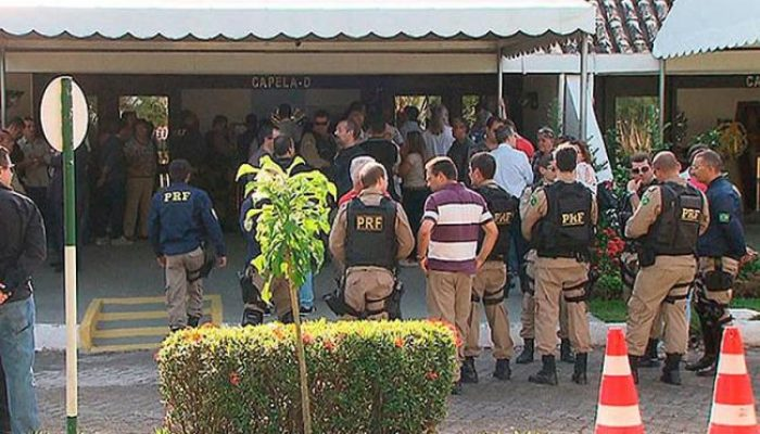 Hamilton Safira chegou sem vida ao Hospital Geral Clériston Andrade (HGCA), em Feira de Santana. Foto: Reprodução/TV Bahia.