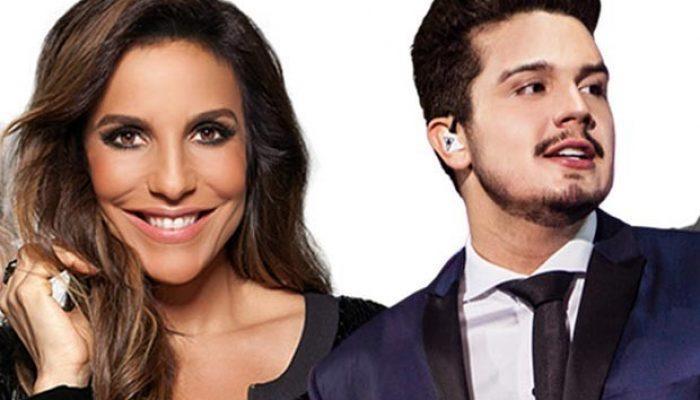 Ivete Sangalo e Luan Santana vão agitar o público.
