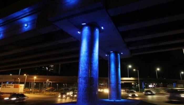 Complexo viário do Imbuí já está iluminado. Foto: Carol Garcia/ GOVBA.