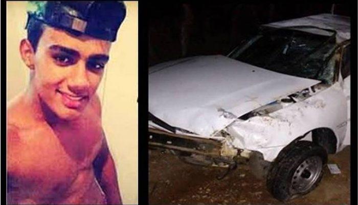 Willian Brandão morreu no local do acidente. Fotomontagem: Site Ipirá Negócios