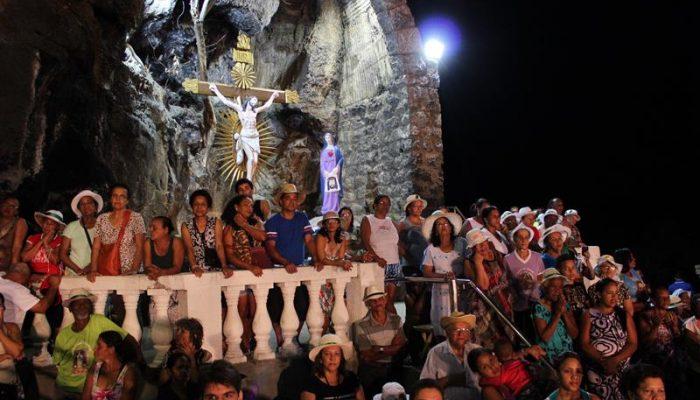 Romeiros em Bom Jesus da Lapa. Foto: Gisele Rocha/Acervo Santuário
