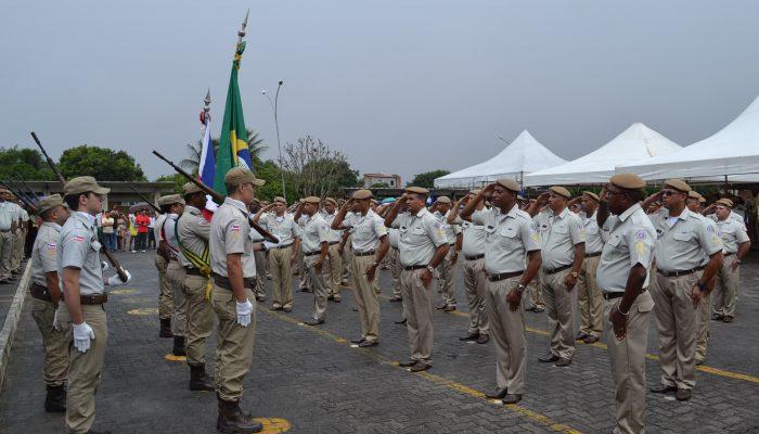 Em Feira de Santana, 125 formandos participaram da cerimônia que aconteceu no 1º Batalhão de Ensino, Instrução e Capacitação (BEIC)