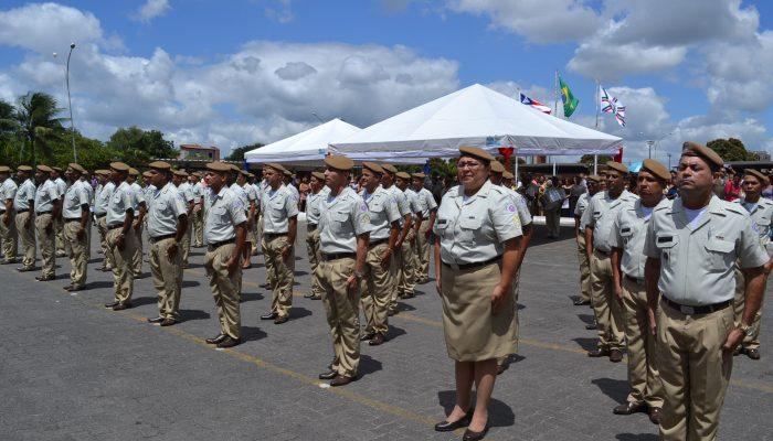 Turma 2015.1 formou 61 novos sargentos em Feira de Santana. Foto: Olá Bahia