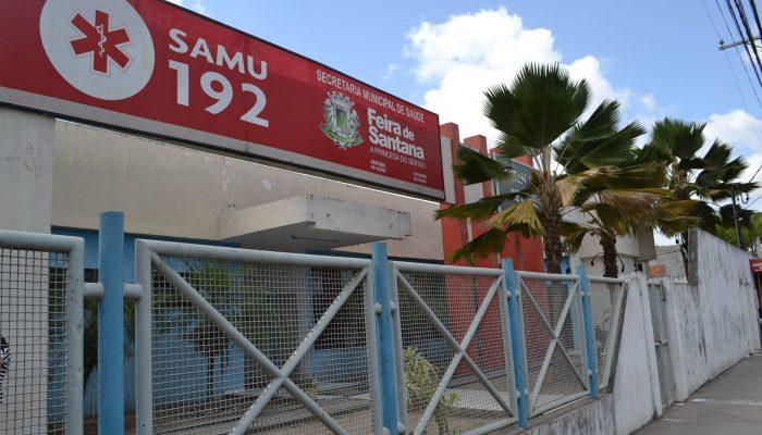 Sede do Samu em Feira de Santana. Foto: Meiryelle Souza/Olá Bahia