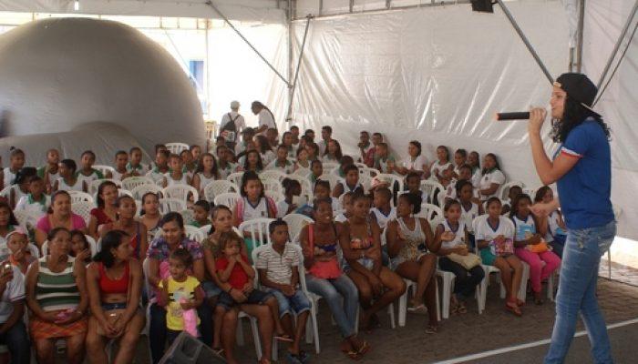 8ª Feira do Livro de Feira de Santana segue até domingo (27). Foto: Edvan Barbosa/Divulgação