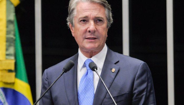 Investigações indicam que o parlamentar recebeu cerca de R$ 26 milhões de propina em contratos da BR Distribuidora. Foto: Lia de Paula/Agência Senado