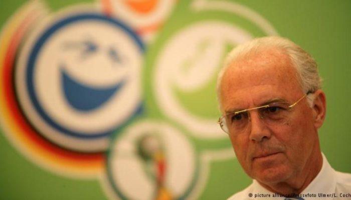 De acordo com a revista, Franz Beckenbauer, presidente do comitê, sabia da transição. Foto: Reprodução/Deutsche Welle