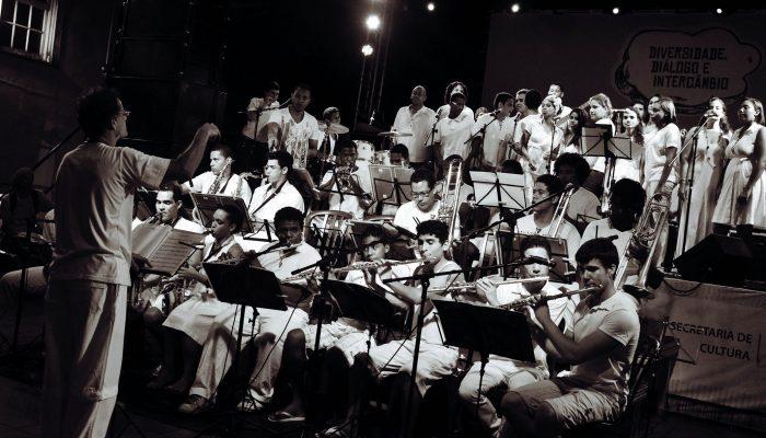 Orquestra da Fundação Cultural do Estado (Ofun). Foto: Dayse Cardoso