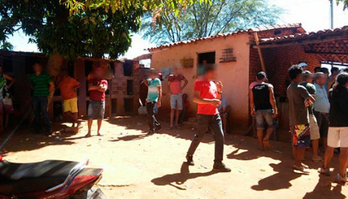 40 pessoas estavam na propriedade no momento da abordagem policial. Foto: L12 Notícias