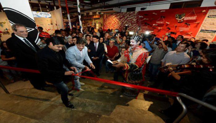 Cerimônia de reabertura aconteceu na noite da quinta-feira (11). Foto: Agecom