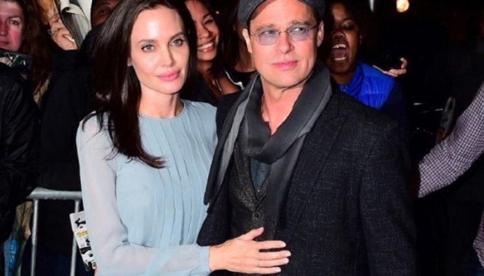 Casal lançou 'À Beira Mar', que conta com direção e atuação de Jolie (Foto: Reprodução / AKM-GSI)