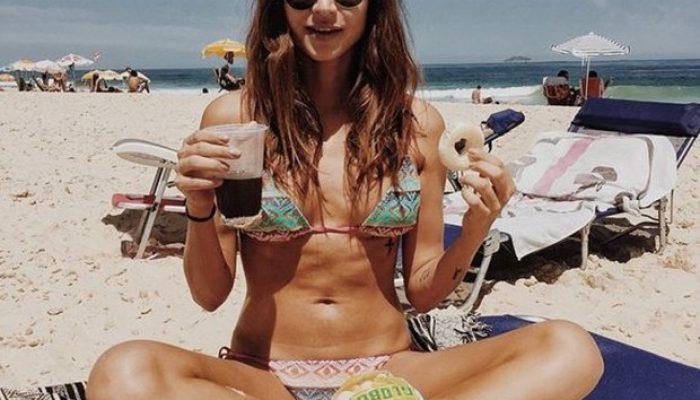 Thaila Ayala: zero de dieta e poucos exercícios. Foto: Reprodução/Instagram