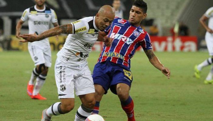 Bahia perdeu oportunidade de alcançar vice-liderança na Série B (Foto: Christian Alekson/Ceará)
