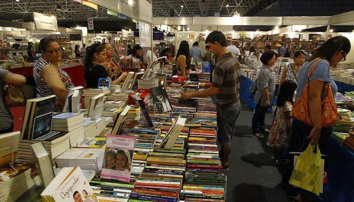A última edição da Bienal do Livro aconteceu em 2013 (Foto: Arisson Marinho/CORREIO)