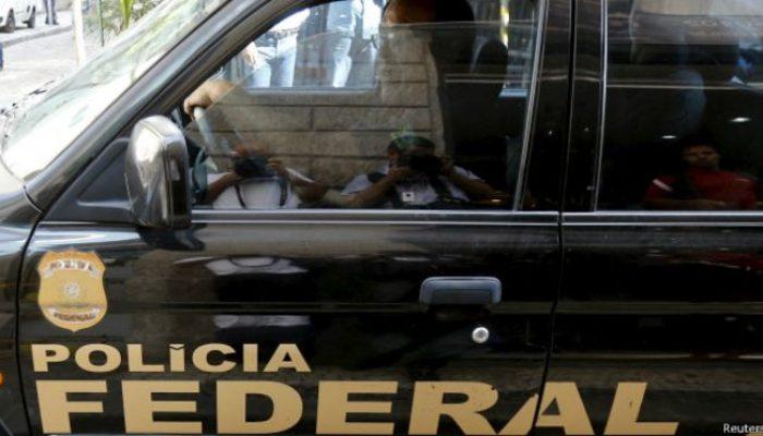 Polícia Federal em operação da Lava Jato. Foto: BBC Brasil/Reuters