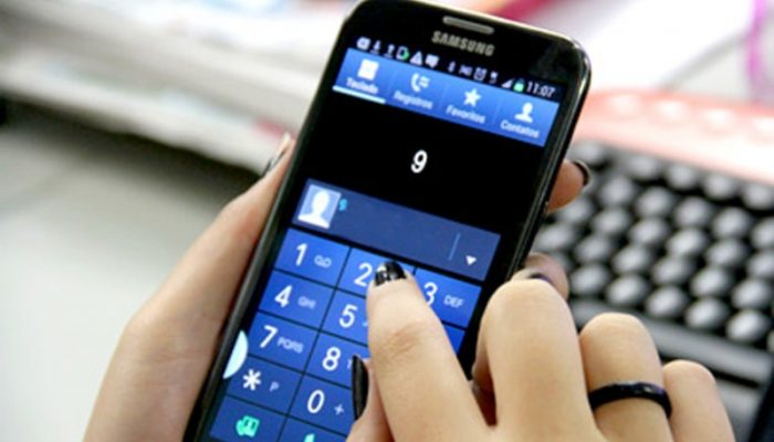Com o número 9 à frente dos números dos celulares permite mais combinações às operadoras