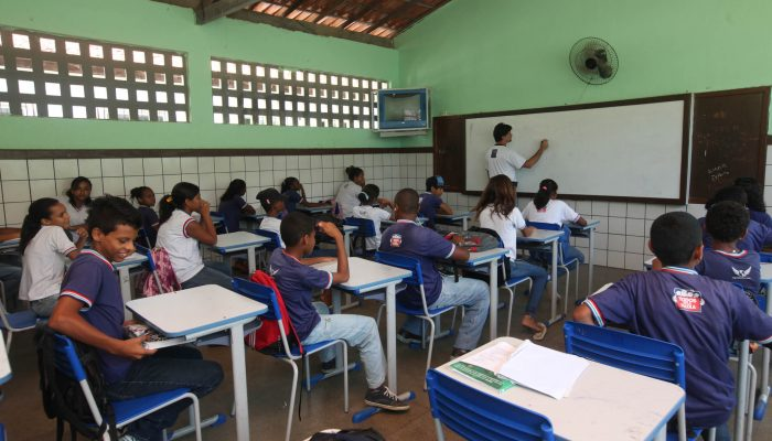 Foto Adenilson Nunes/GOVBA  Local Colégio estadual Padre Palmeira  Mussurunga I
