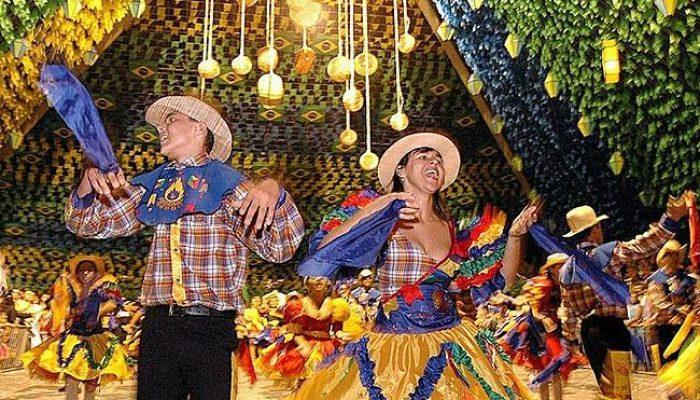 A programação do Arraiá de Feira, em Feira de Santana - Região Centro Norte Baiana - continua a todo vapor nesta sexta-feira (24) (Foto: Divulgação)