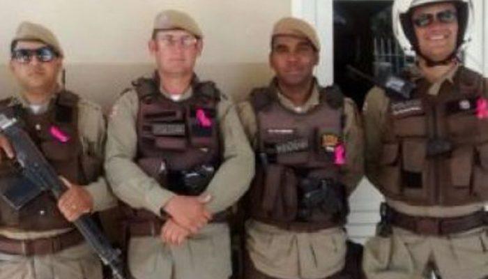 A ordem é do comandante da 75ª CIPM, que apostou na ideia de combater o câncer de mama entre os agentes da corporação. (Foto: Divulgação/ PM-BA)